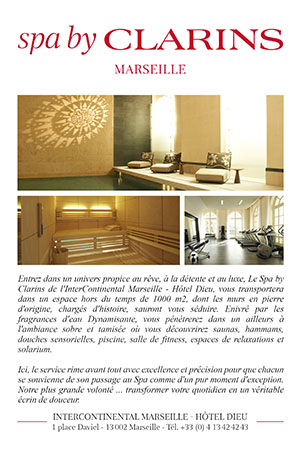 Spa By Clarins Hotel Intercontinental Marseille