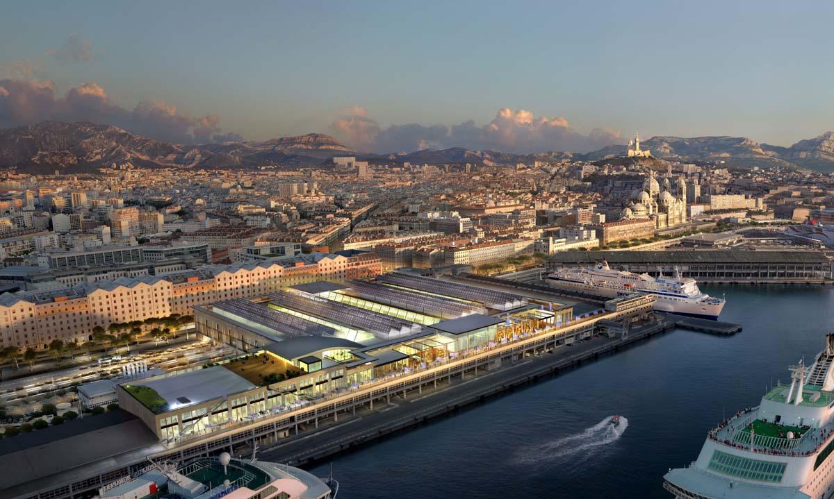 Les docks syndicat d 39 initiative marseille tourisme - La terrasse du port marseille ...