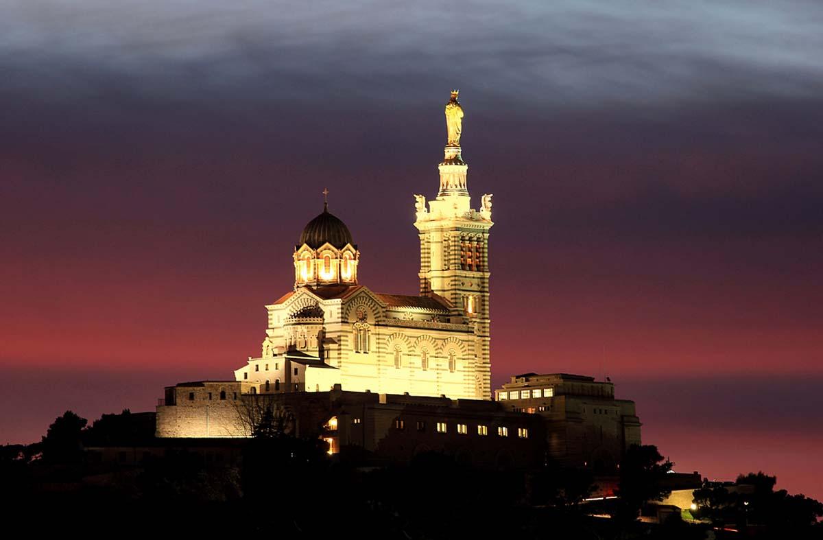 The Ex Visiter Notre Dame De La Garde Syndicat D Initiative